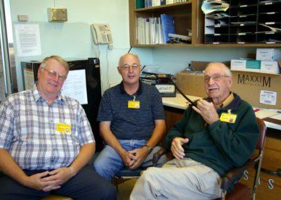 01. VA3WLM Stn - Ops (L-R) John VE3ISE, Jack VE3CXH & Jim VE3BCA, by John VA3BOZ IMGP1950