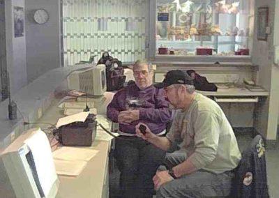 05. VA3SCG Stn - S.E.T. Ops Ron VE3NDI & Don VA3XL HotelDieuHospital_01