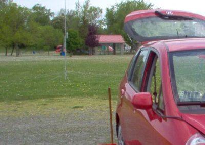 06. GWEN SET May '09 - Niagara - Antenna sight line by Peter VA3WET niagara_04