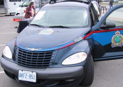 15. Nia Reg Police Svc - Would you mind seeing this in you rear view Nah! NRPS_Front